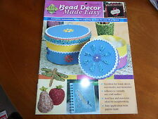 BEAD DECOR MADE EASY PROJECTS