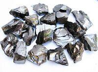 ELITE Shungite Natural C60 rough raw 150 gr fraction 5-10 Healing Water - RUSSIA