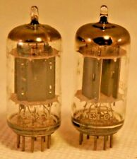 2 Telefunken <> 12AX7 ECC83 Audio smooth plate Tube Test v strong Guaranteed #28