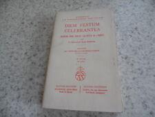 1939.Diem festum celebrantes.sermons.Chanoine Jean Engel