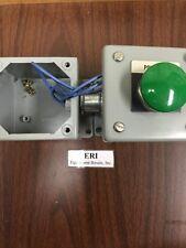 Hoffman Push Button Boxes E-1PB, Connected W/ Allen Bradley 800T-D Button. L 38A
