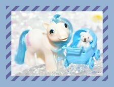 ❤️My Little Pony MLP G1 Vtg 1986 Beddy Bye Eye BBE Sleepy Pie Baby Blue Hair❤️