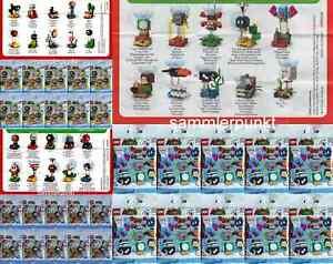 1 LEGO® KOMPLETTSATZ SUPER MARIO CHARAKTERE IN D.ORIGINALVERPACKUNG Ihrer Wahl