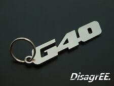 """Schlüsselanhänger """"G40"""" - Polo G40 - G Lader  - hochwertiger Edelstahl"""