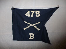 flag470 WW 2 US Army Guide on Merrills Marauders 475th Regiment B Company