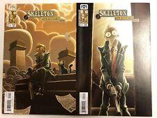 Skeleton Story #1 and 2 Comic Book Set GG Studio 2010