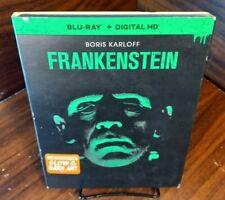 FRANKENSTEIN (Blu-ray, No Digital, 1931) Limited Glow in the Dark Art Slipcover