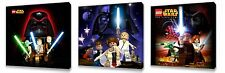 Lego Star Wars II set of Three Wall / Plaques canvas pictures