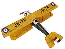 "Curtis JN-7H Jenny Barnstormer Biplane Metal Model 19"" Airplane Aircraft Decor"
