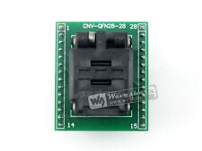 QFN28 TO DIP28 (A) MLF28 MLP28 IC Test Socket Programming Adapter 0.5mm Pitch