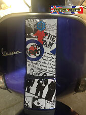 Horn Cover Cast Sticker Graphic Fits Vespa PX T5 LML Decal The Jam Mod Decal HC3