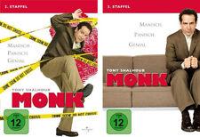 8 DVDs  * MONK -  STAFFEL 2 + 3 IM SET  # NEU OVP