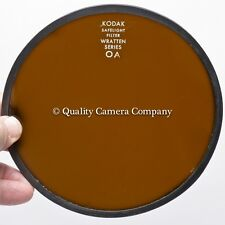 "Kodak 5.5"" (14cm) Safelight Filter OA (GREENISH YELLOW) B&W Contrast/Duplication"