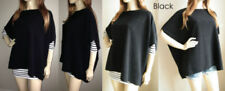 Short Sleeve Regular Size Poncho Jumpers & Cardigans for Women