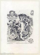 Stefano della Bella (1610–1664), Ornamentik, Satyre, Satyr