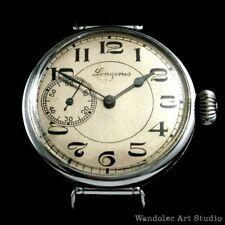 Longines Vintage Mens Wristwatch Mechanical Noble Design Men's Wrist Watch Swiss