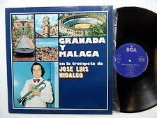 JOSE LUIS HIDALGO Granada y Malaga LP Latin trompeta NEAR-MINT vinyl