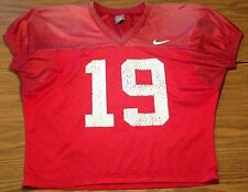 Citadel Bulldogs Quarterback Authentic Football Practice Jersey Nike #19 Sz M