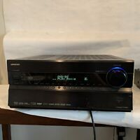 Onkyo TX-NR807 Black 7.2-Channel Home Theater Stereo A/V Receiver *AS IS* -Read!