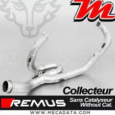 Collecteur 2-1 sans cat Haute Performance Remus inox KTM 1190 Adventure R 2014
