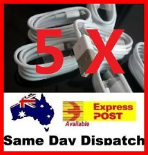 5 x New Lightning 8Pin USB Data Sync Charger Cable for 5 5s 6S 6plus 7 + IOS10