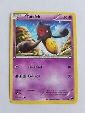 Tutafeh Noir et Blanc Glaciation Plasma 55/116 commune Carte Pokemon état moyen