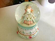 Santa Snow Globe Happy Holidays San Francisco Music Box & Gift Company
