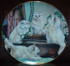 Lovely Franklin Mint Collectors Plate PLAYING DRESS UP