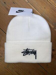 Nike X Stussy Beanie White