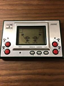 Nintendo Game & Watch JUDGE Green Used