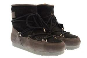 Moon Boot scarpe donna stivali MOON BOOT F.SIDE LOW SUEDE GL. 24200200 002 A18