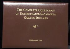 The Complete Collection of Uncirculated Sacagawea Golden Dollars