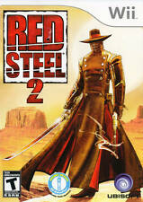 Red Steel 2 Wii Great Condition Complete Fast Shipping