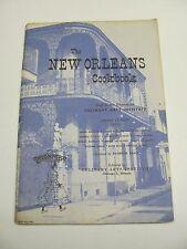 Rare The New Orleans Cookbook by Culinary Arts Institute Melanie De Proft PB 57