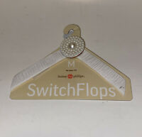 Lindsay Phillips Switch Flops Straps Vanessa Size M 7/8