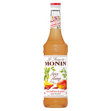 Monin Sirup Spicy Mango, 0,7L, 1er Pack