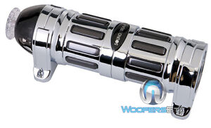 SOUNDSTREAM SCX-4 FARAD BLUE DIGITAL POWER CAPACITOR for SUBWOOFER AMPLIFIER NEW
