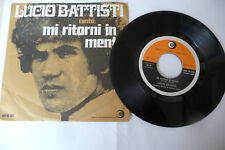 "LUCIO BATTISTI""MI RITORNI IN MENTE-DISCO 45 GIRI RICORDI It 1968"""
