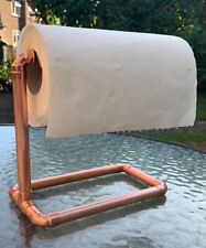 Copper Pipe Kitchen Roll Stand