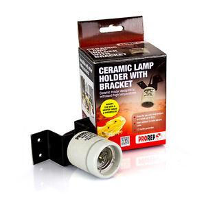 Pro Rep Ceramic Fitting Lamp Holder with Bracket 300w Bulb Holder