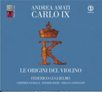 cd il violino CARLO IX di Andrea Amati- Federico Guglielmo  - baroque music
