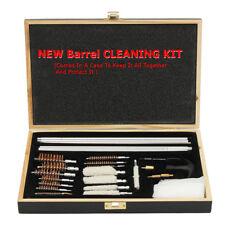 Gun Cleaning Kit Hunting Rifle Shotgun Pistol Brush Set 6mm Solid Brass Rod