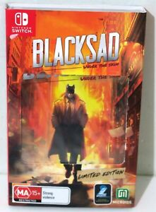 New & Sealed - Blacksad Limited Edition for Nintendo Switch - Free Post