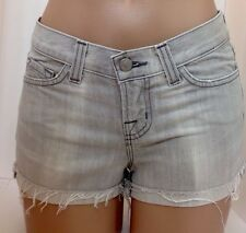 Jbrand Light Grey(nickel)Denim Shorts Size 24