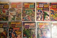 Captain America Tales of Suspense 250 comic collection lot Silver Age Avengers *