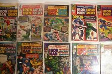 Captain America Tales of Suspense 250 comic collection lot Silver Age Avengers
