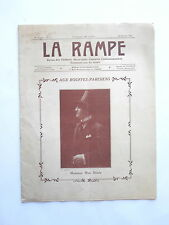 Max DEARLY REVUE SPECTACLES la RAMPE THEATRE CONCERT MUSIC-HALL  n° 5 1916