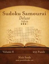 Sudoku Samurai: Sudoku Samurai Deluxe - Difficile - Volume 8 - 255 Puzzle by...
