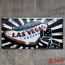 Metal Tin Sign las vegas nevada Decor Bar Pub Home Vintage Retro Poster Cafe Art