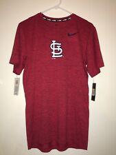 Mens Nike St Louis Cardinals Bsbl Shirt Size Small